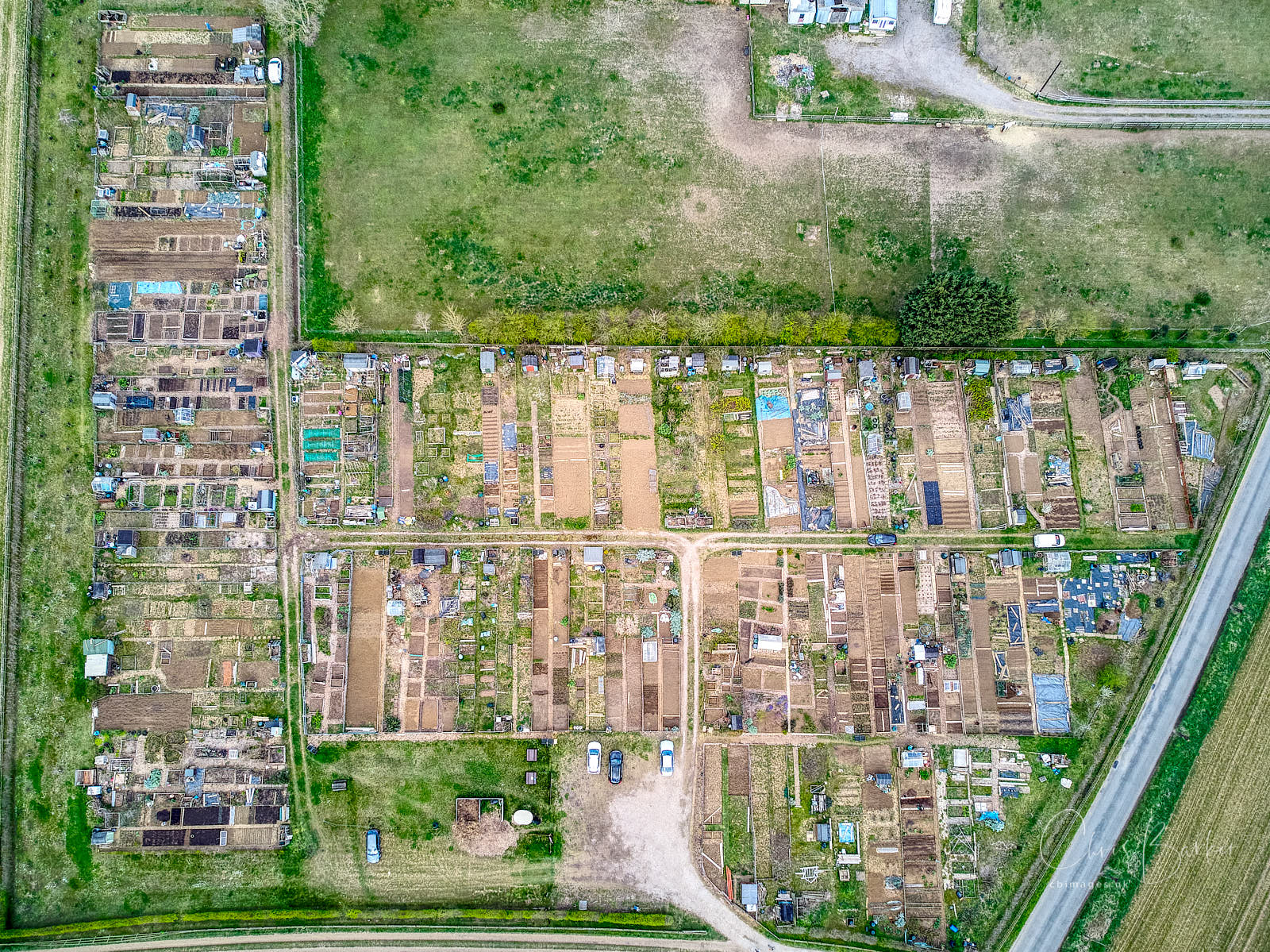 Allotments from above